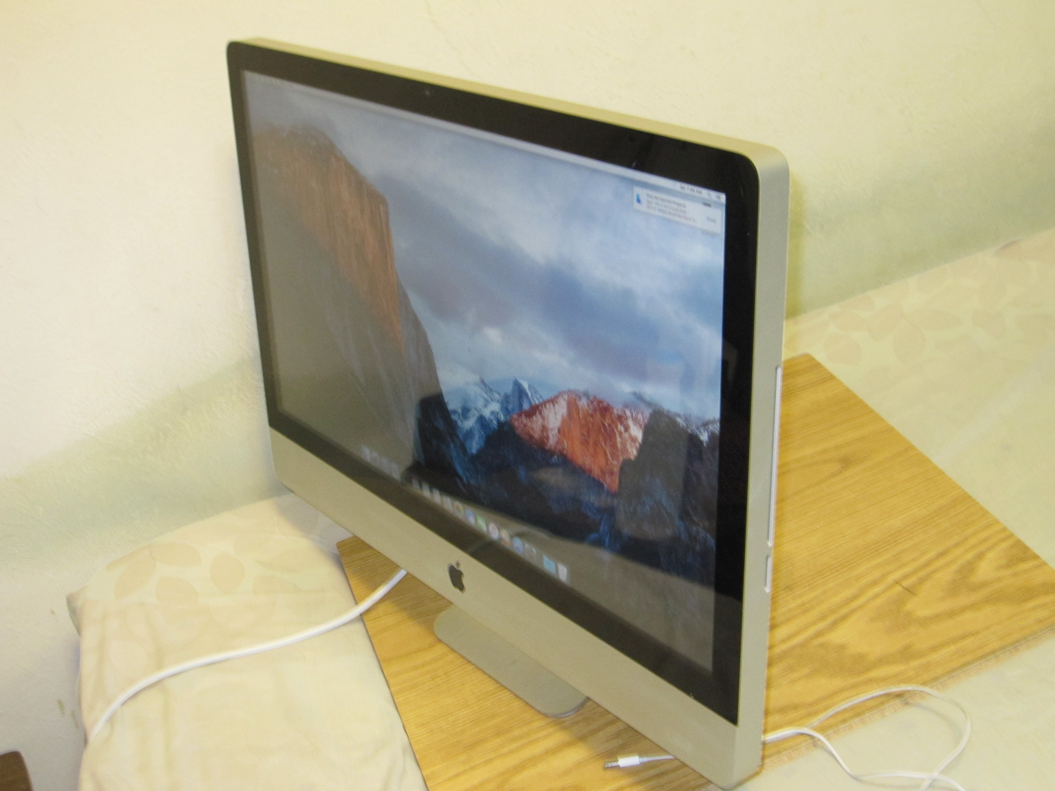 imac 2.66 ghz intel core 2 duo ssd upgrade