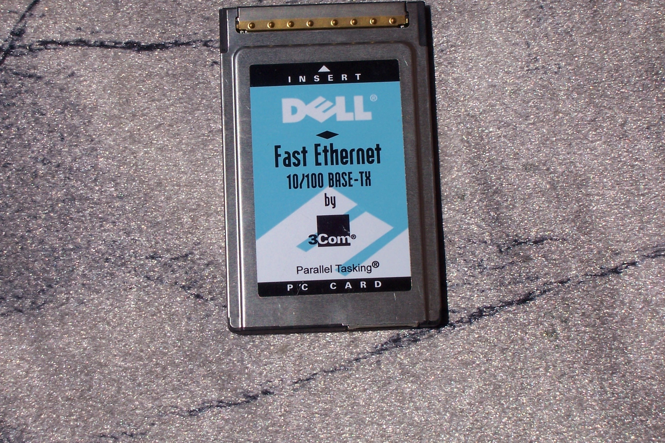 Dell Fast Ethernet 10/100 BASE-TX by 3Com PC Card (3CCFE575CT-D)