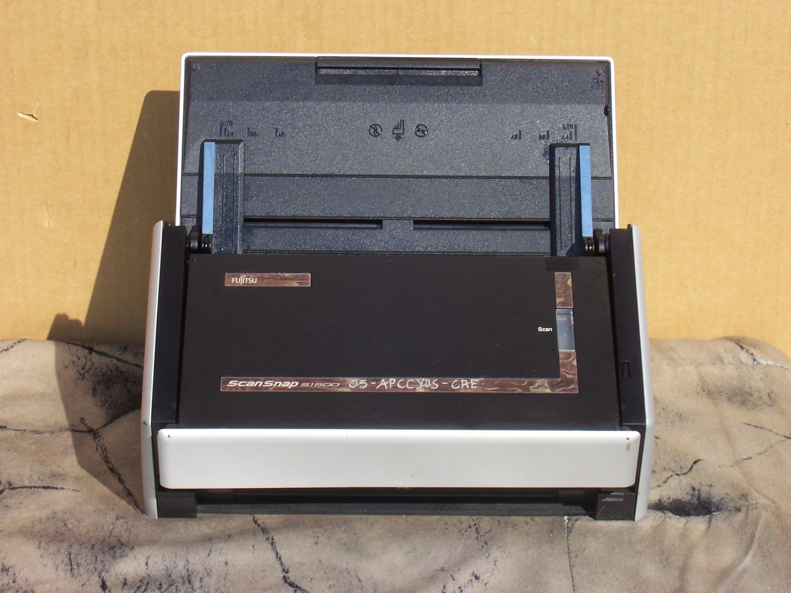 Fujitsu ScanSnap S1500 Instant PDF Multi Sheet-Fed Scanner