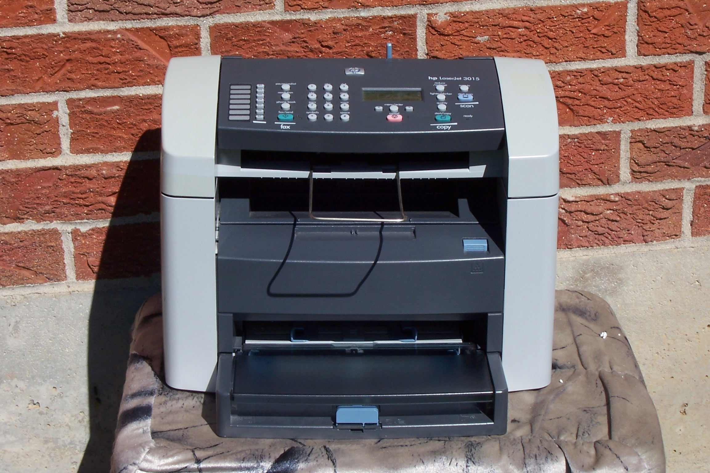 hp laserjet 3015 all in one laser printer imagine41. Black Bedroom Furniture Sets. Home Design Ideas