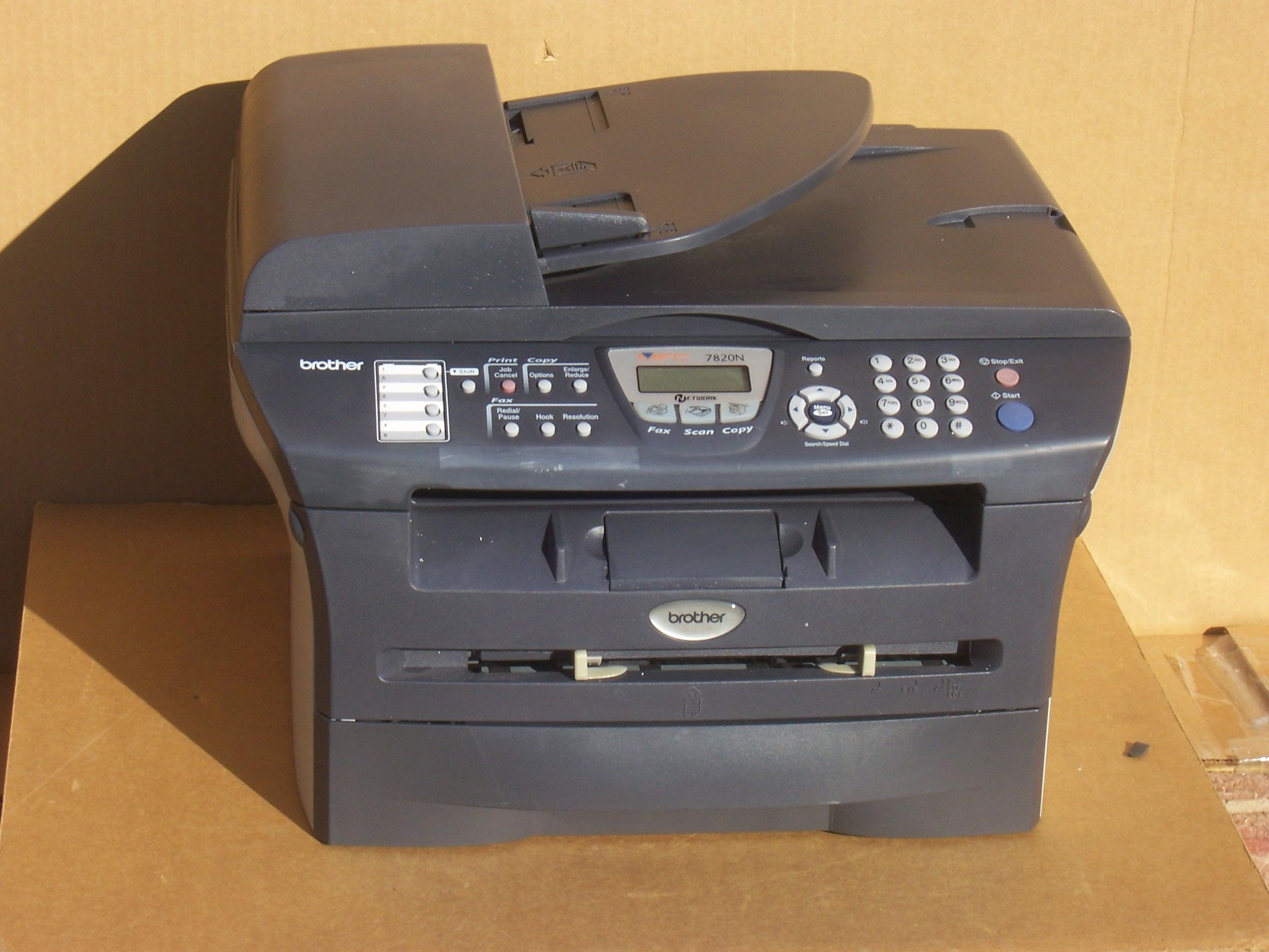 Brother MFC-7820N Flatbed Laser Multi-Function Printer - Imagine41