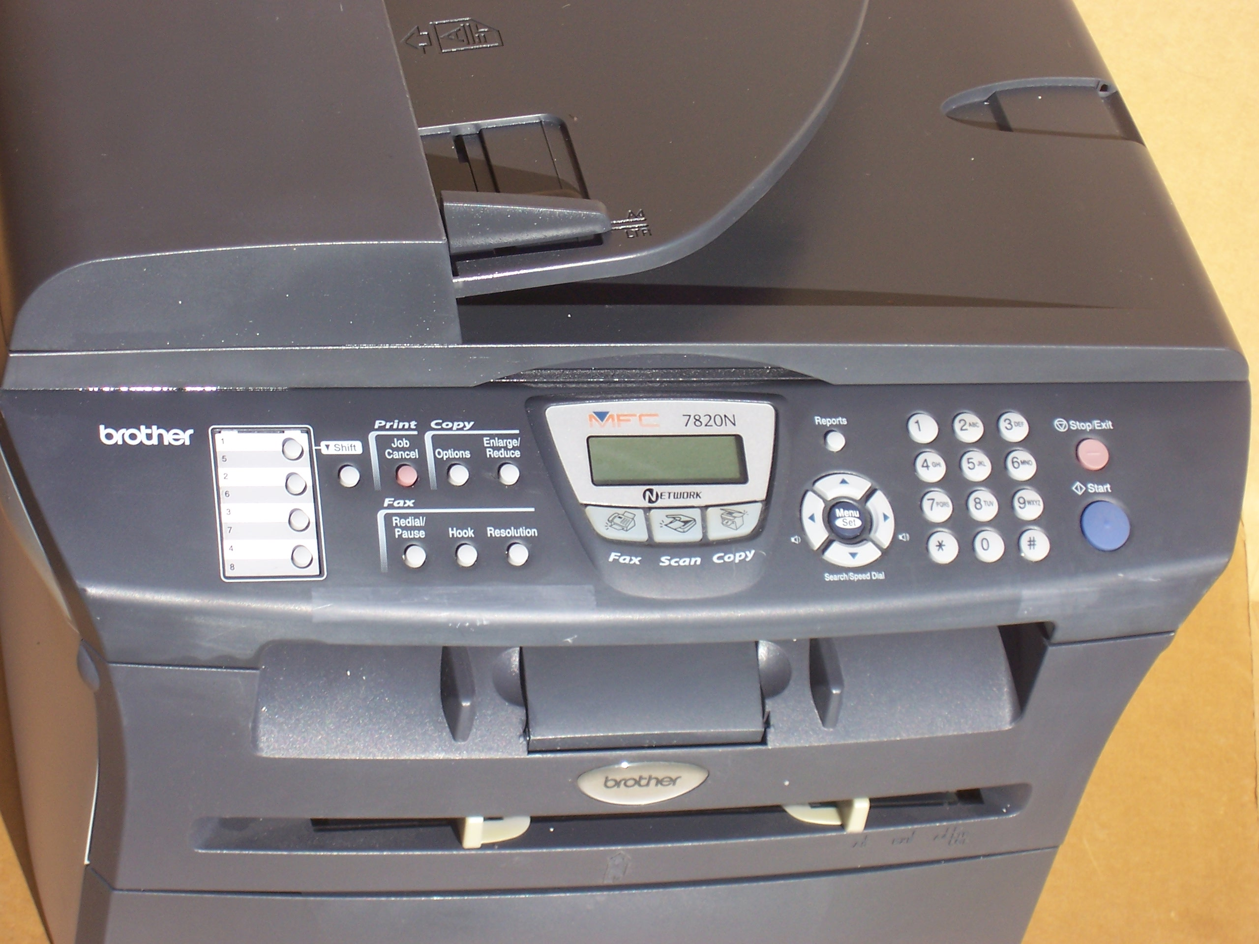Brother Mfc 7820n Flatbed Laser Multi Function Printer