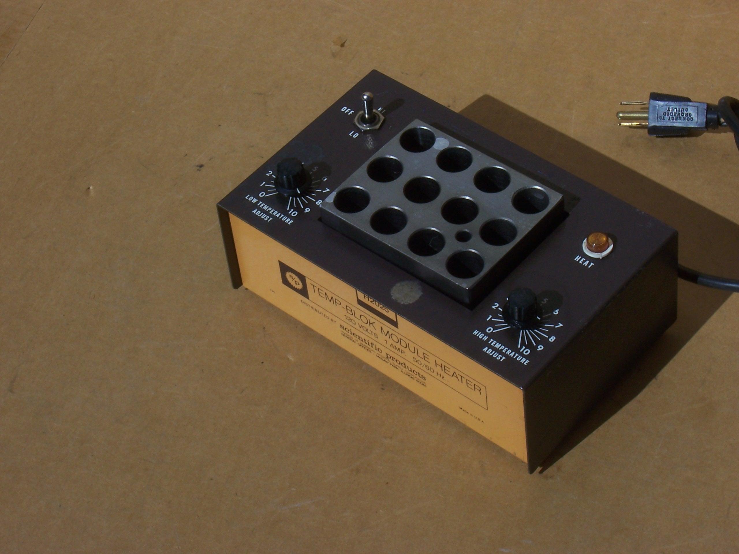 Scientific products h temp blok module heater tube