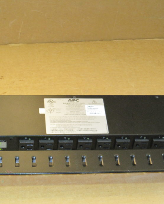APC AP7900 Switched Rack PDU 15A/100/120V Surge Protector Strip NEMA 5-15P-1974