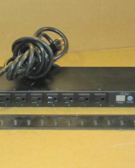 APC AP7900 Switched Rack PDU 15A/100/120V Surge Protector Strip NEMA 5-15P-0