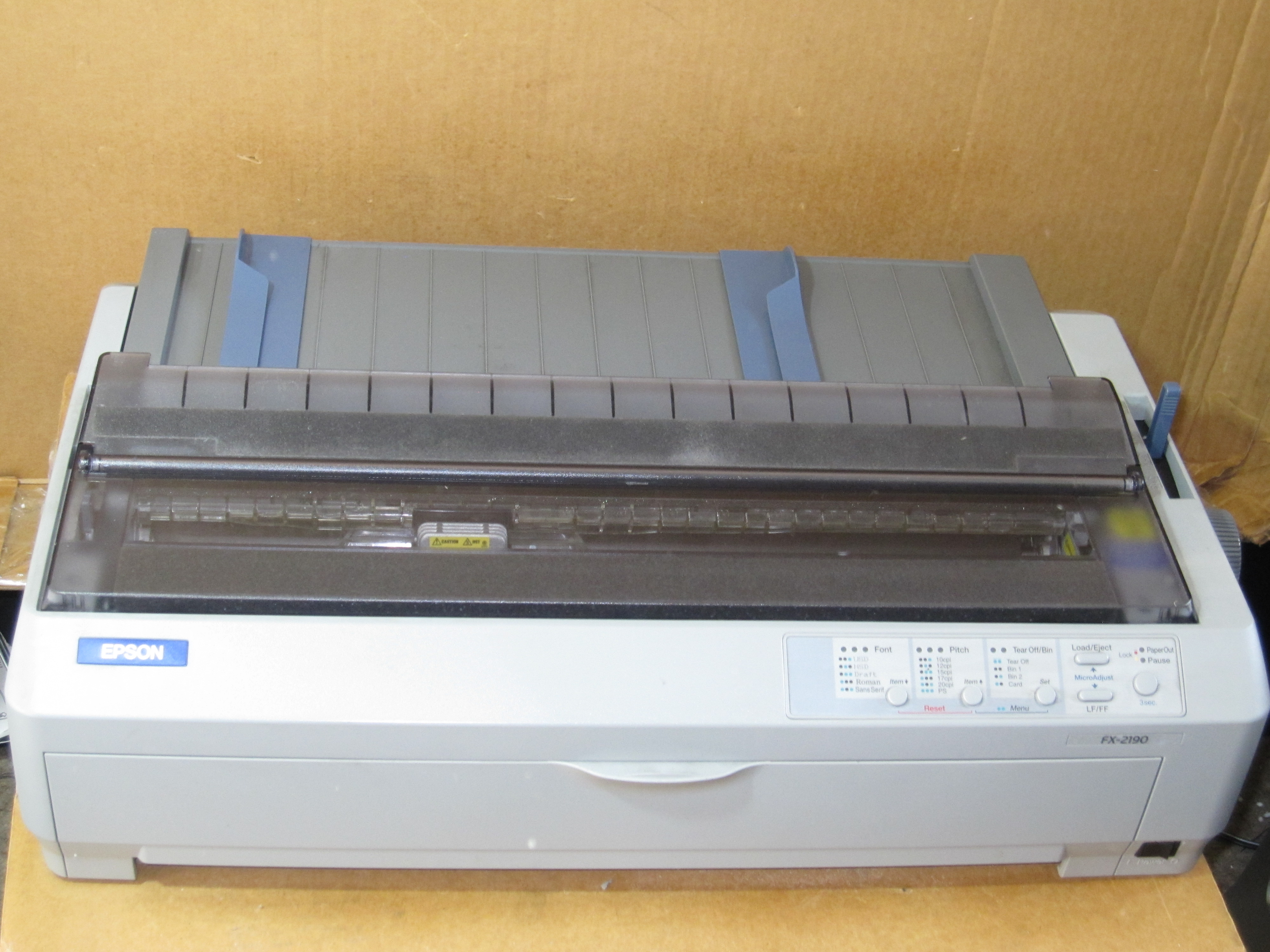 EPSON FX-2190N DRIVERS FOR MAC