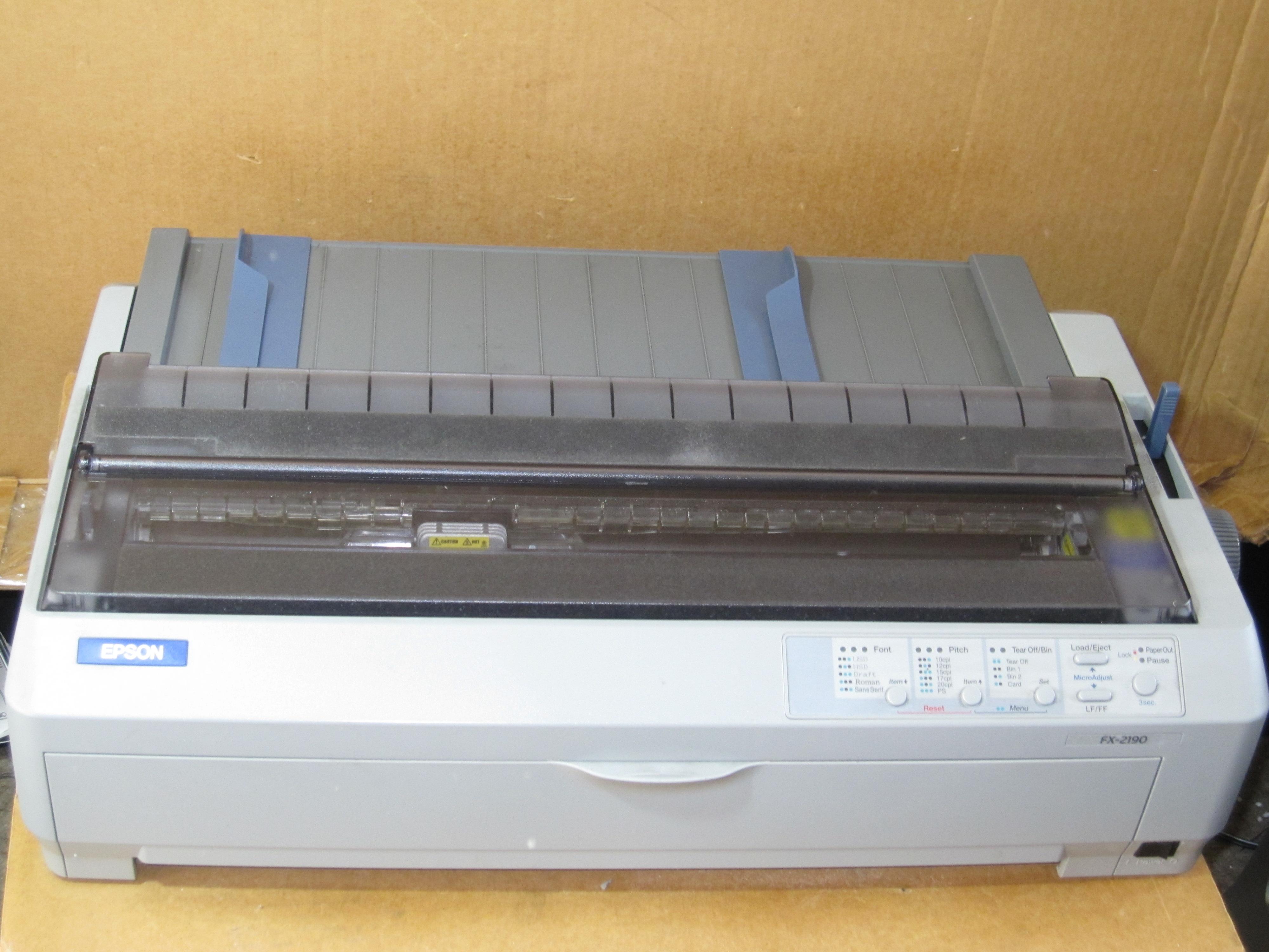 EPSON FX-2190N TREIBER WINDOWS 10