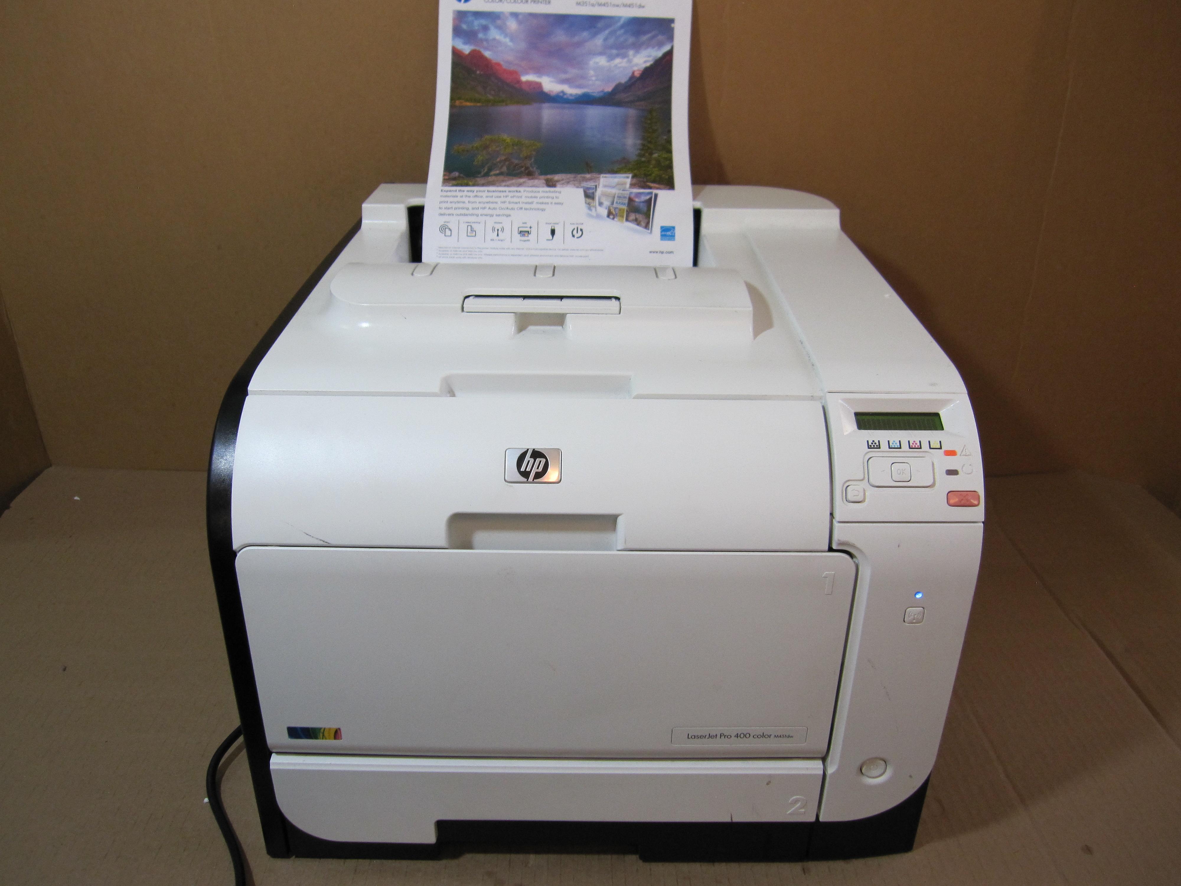 Hp Laserjet Pro 400 M451dw Color Wireless Photo Printer Ce958a Imagine41