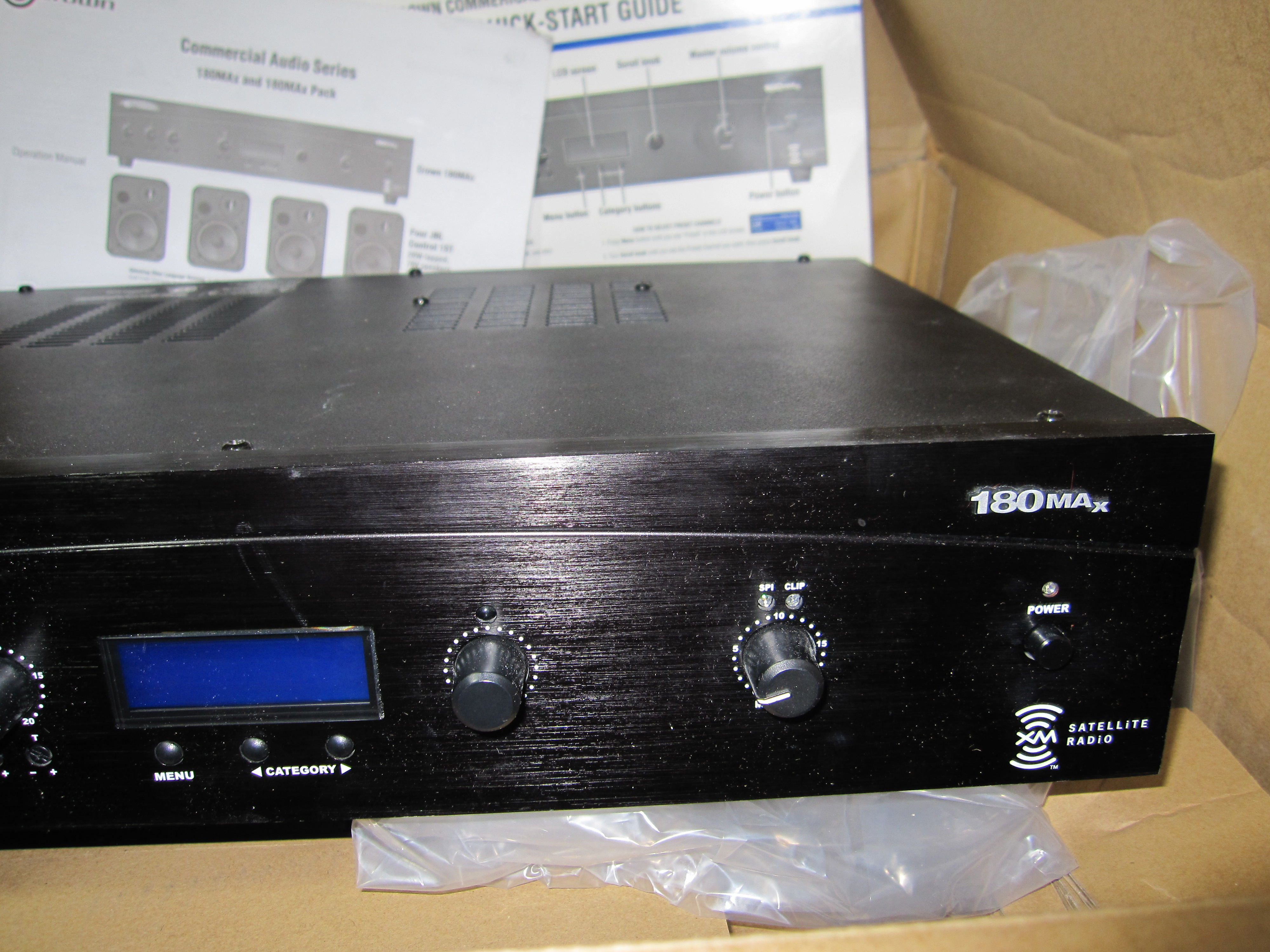 Crown 180max commercial audio mixeramplifier with xm radio tuner crown 180max commercial audio mixeramplifier with xm radio tuner sciox Choice Image