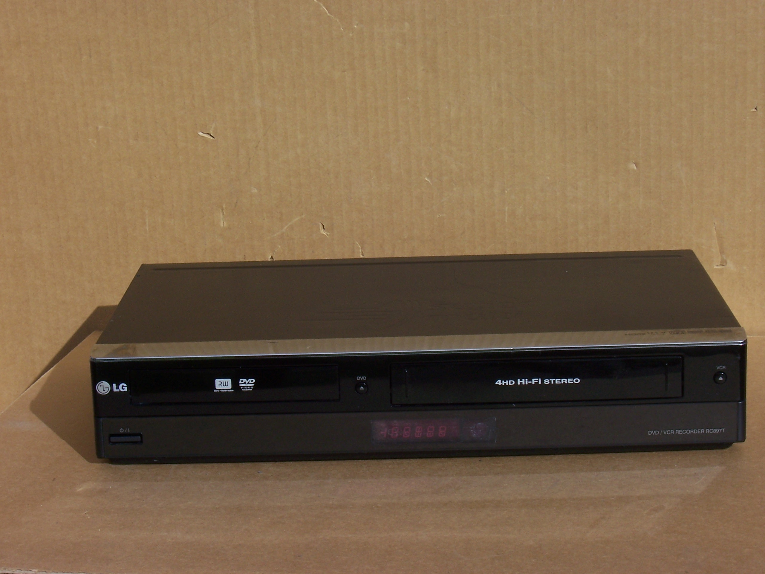 Lg dvd vcr recorder rc897t manual.