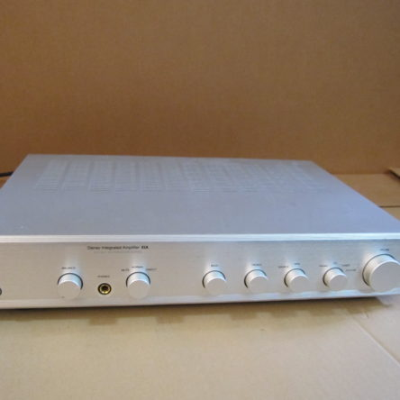 AMC XIA Integrated Stereo Amplifier With Instructions For Operation & Installation