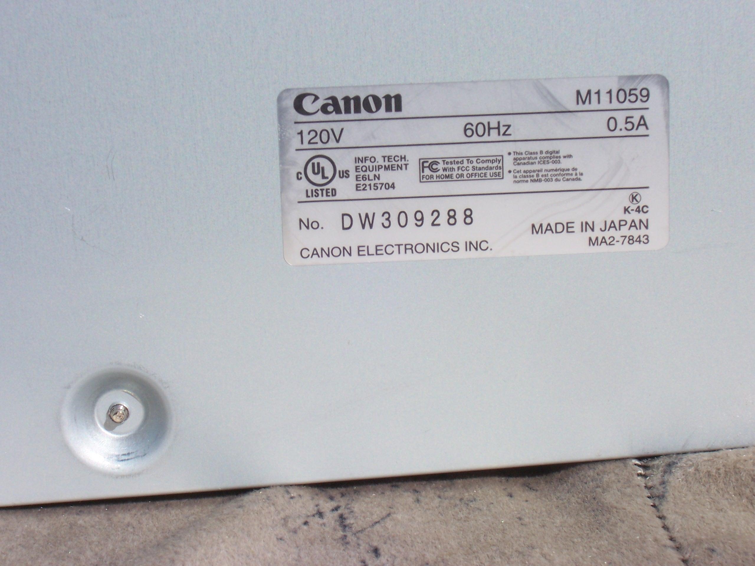 Canon imageFORMULA DR-4010C Color Departmental Scanner